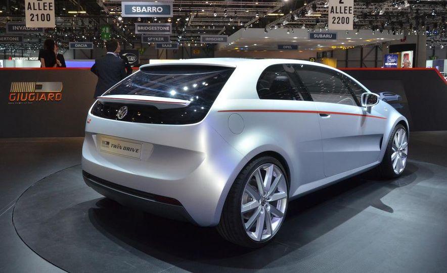 Italdesign Giugiaro / Volkswagen Tex concept - Slide 7