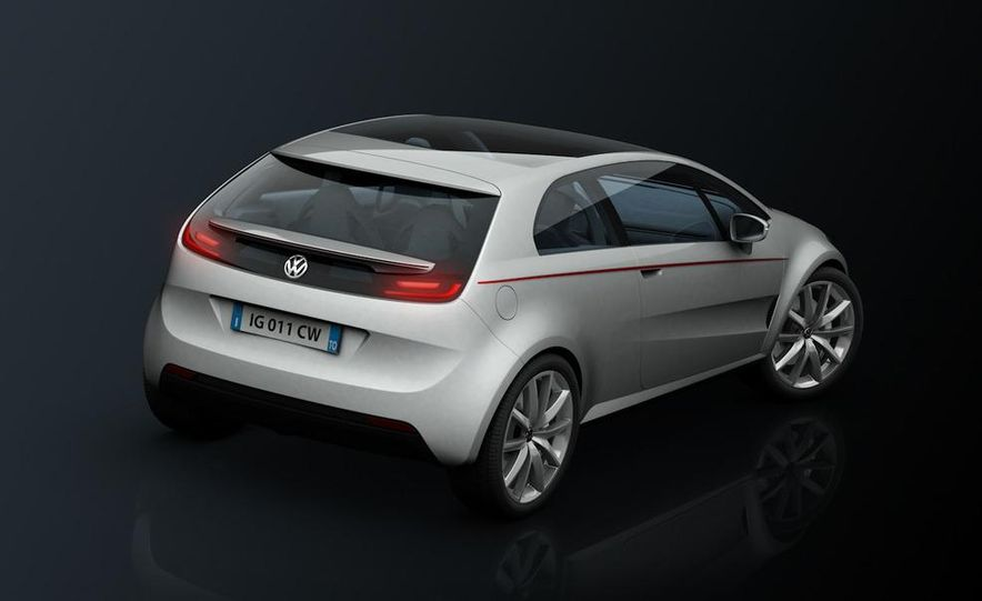 Italdesign Giugiaro / Volkswagen Tex concept - Slide 24