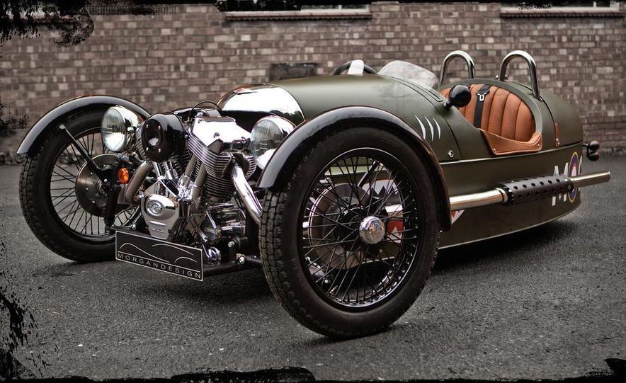Morgan 3-Wheeler - Slide 14