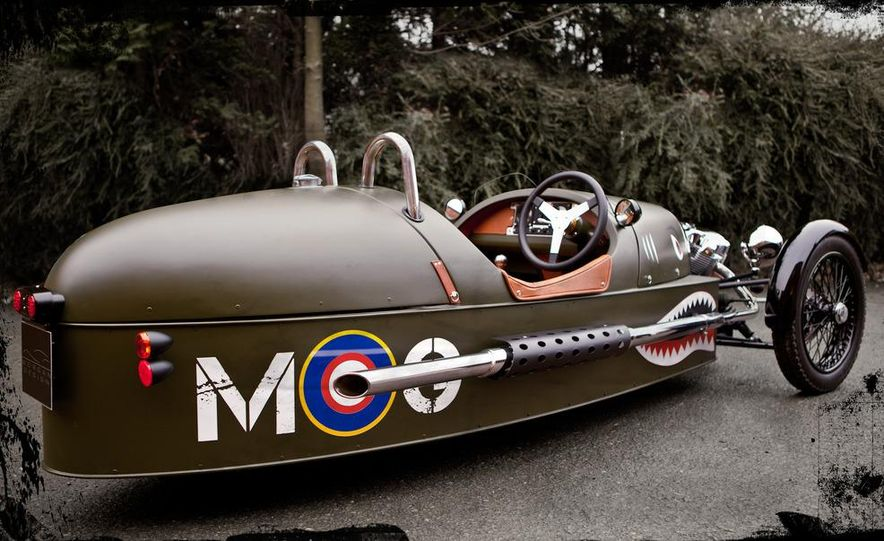 Morgan 3-Wheeler - Slide 18