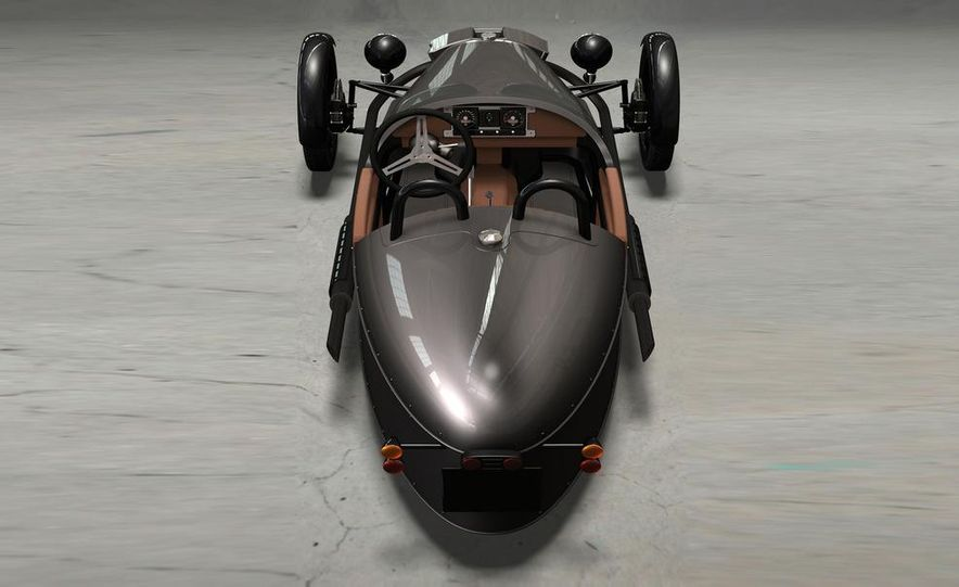Morgan 3-Wheeler - Slide 24