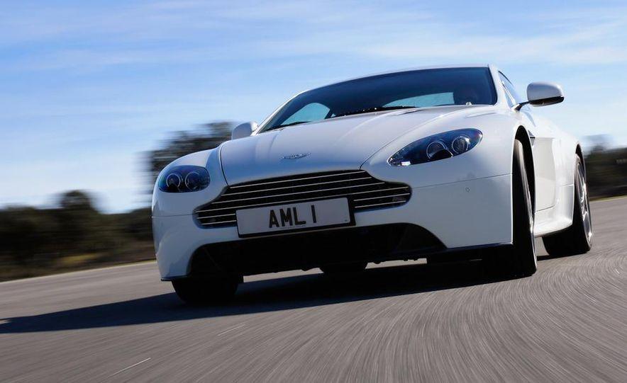 2012 Aston Martin Vantage S Volante and coupe - Slide 89