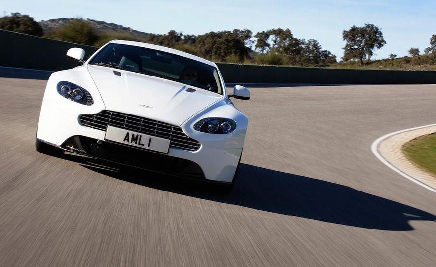 2012 Aston Martin Vantage S Volante and coupe - Slide 91