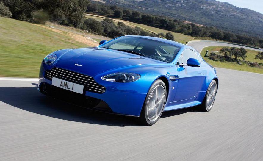 2012 Aston Martin Vantage S Volante and coupe - Slide 65