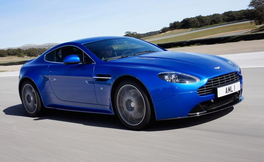 2012 Aston Martin Vantage S Volante and coupe - Slide 66