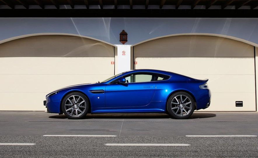 2012 Aston Martin Vantage S Volante and coupe - Slide 71