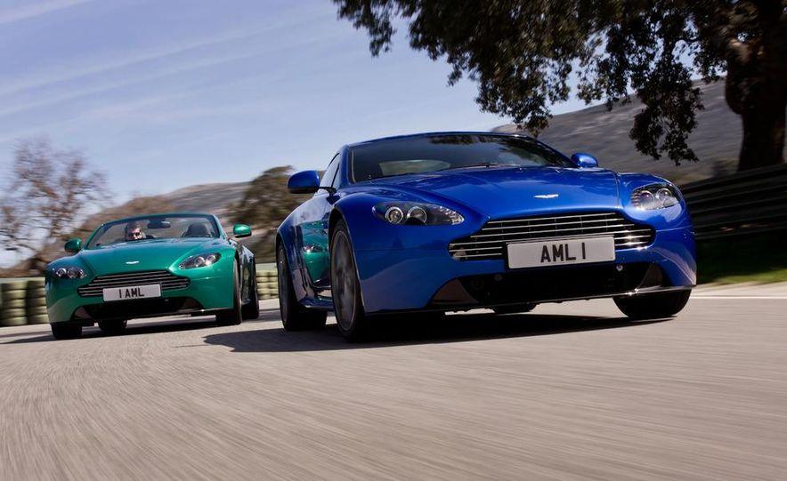 2012 Aston Martin Vantage S Volante and coupe - Slide 2