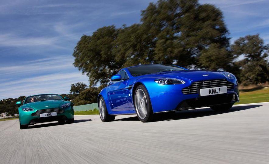 2012 Aston Martin Vantage S Volante and coupe - Slide 3
