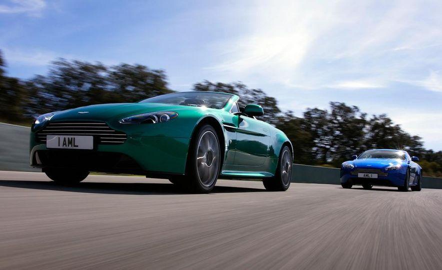 2012 Aston Martin Vantage S Volante and coupe - Slide 4