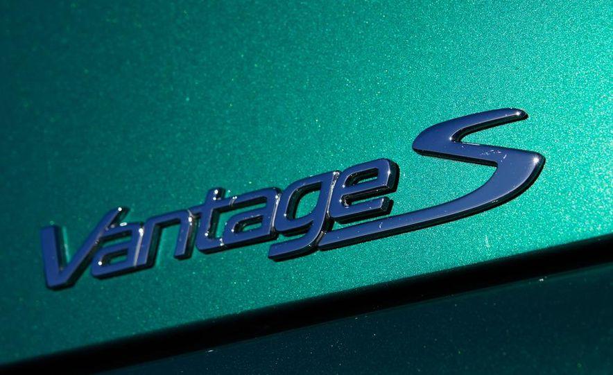 2012 Aston Martin Vantage S Volante and coupe - Slide 37