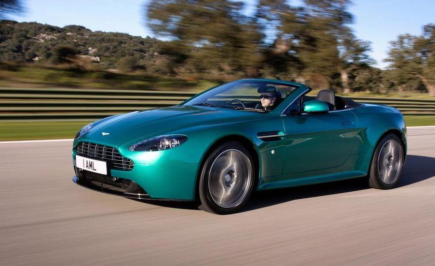 2012 Aston Martin Vantage S Volante and coupe - Slide 14