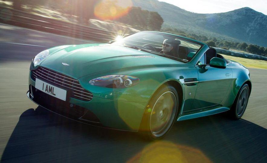 2012 Aston Martin Vantage S Volante and coupe - Slide 15