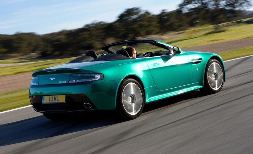 2012 Aston Martin Vantage S Volante and coupe - Slide 20