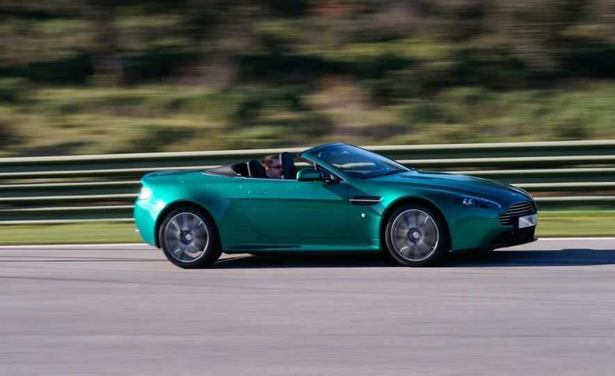 2012 Aston Martin Vantage S Volante and coupe - Slide 22