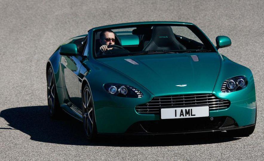 2012 Aston Martin Vantage S Volante and coupe - Slide 23