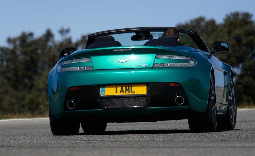 2012 Aston Martin Vantage S Volante and coupe - Slide 26