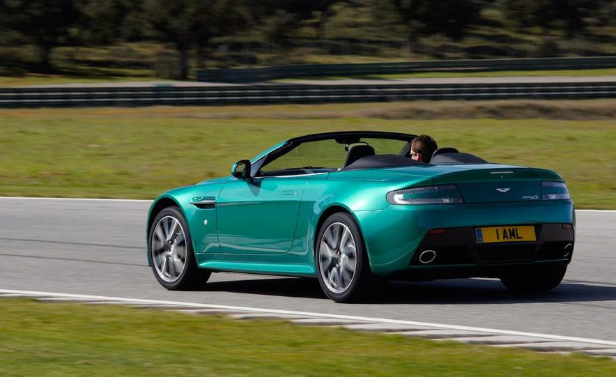 2012 Aston Martin Vantage S Volante and coupe - Slide 29