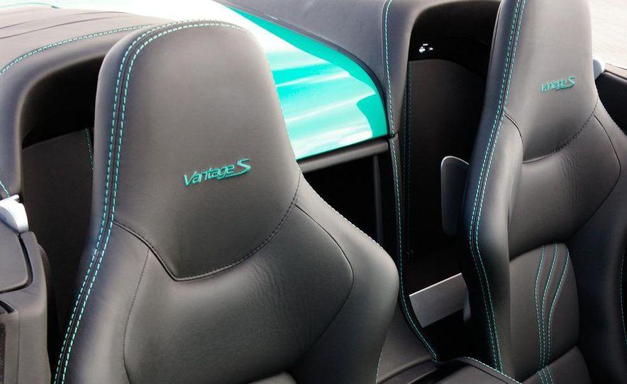 2012 Aston Martin Vantage S Volante and coupe - Slide 47