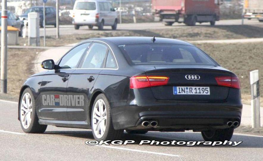 2012 Audi S6 (spy photo) - Slide 7