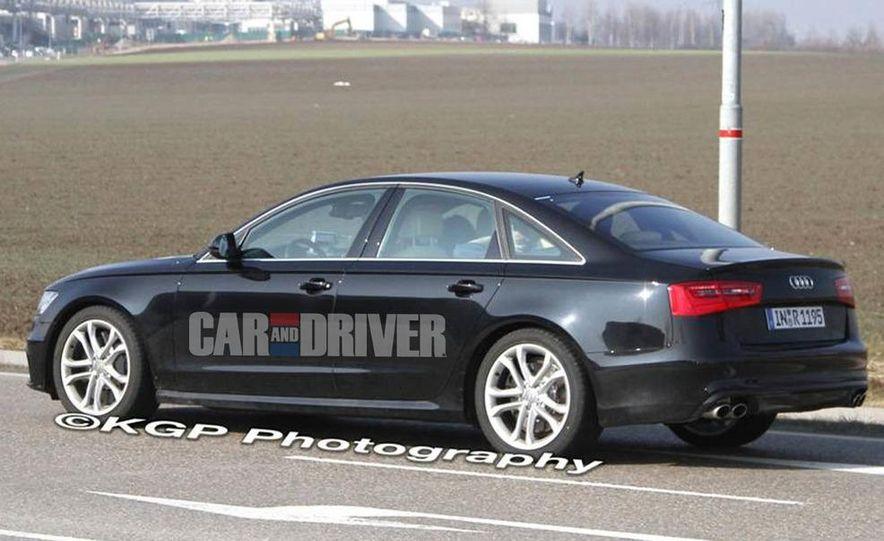 2012 Audi S6 (spy photo) - Slide 5