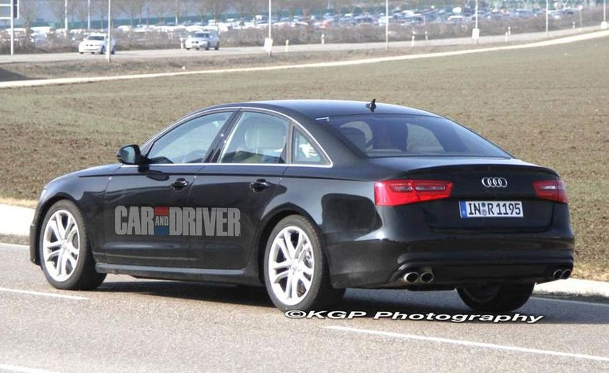 2012 Audi S6 (spy photo) - Slide 6