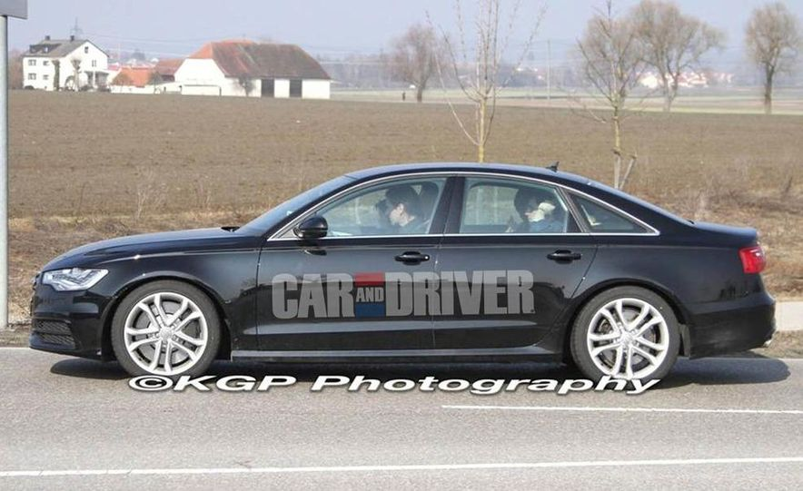 2012 Audi S6 (spy photo) - Slide 4