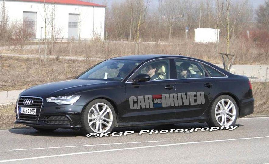 2012 Audi S6 (spy photo) - Slide 3