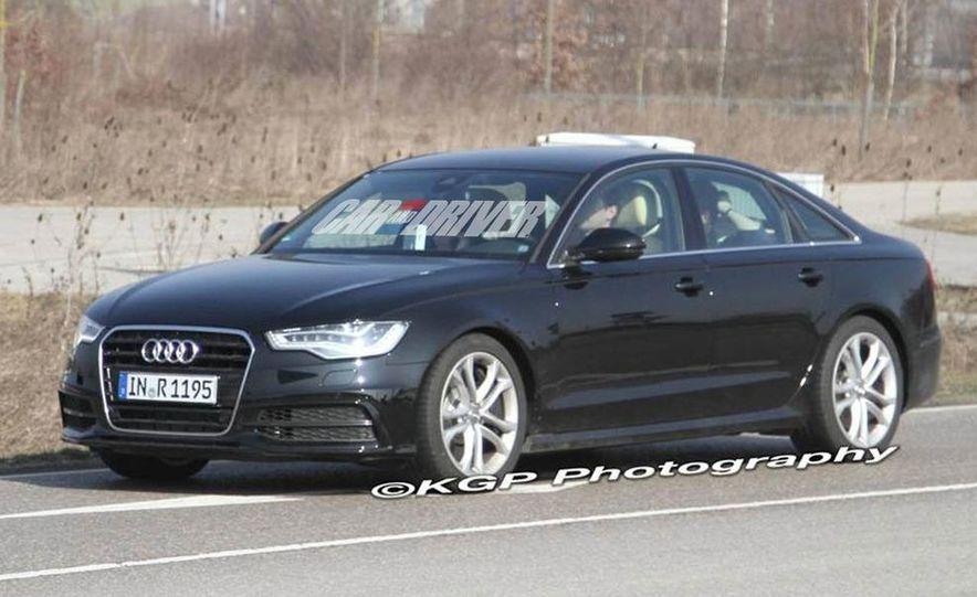 2012 Audi S6 (spy photo) - Slide 2