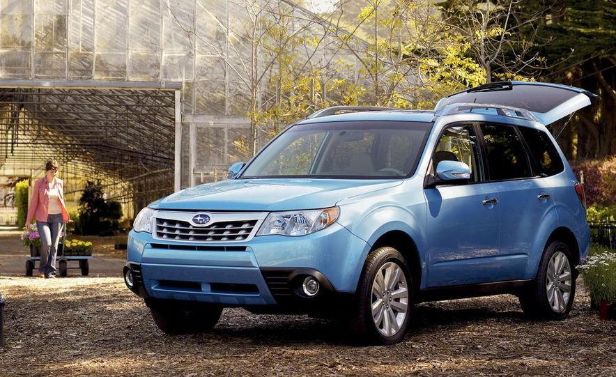 2011 Subaru Forester 2.5X Touring - Slide 1