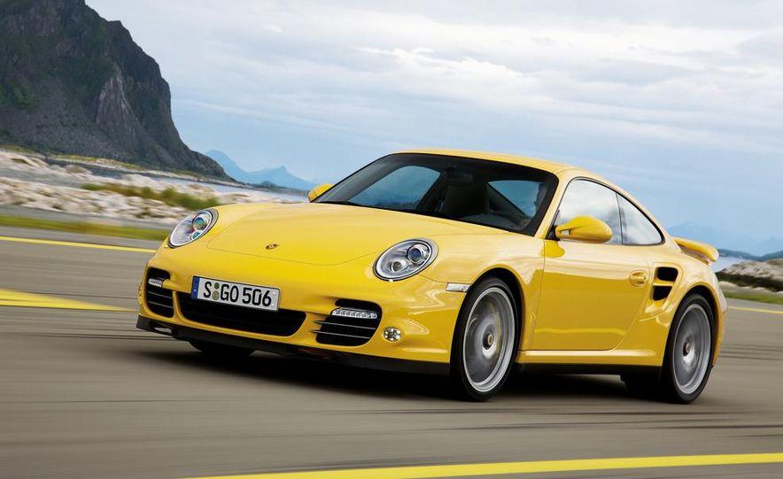 2013 Porsche 911 Turbo coupe (spy photo) - Slide 11