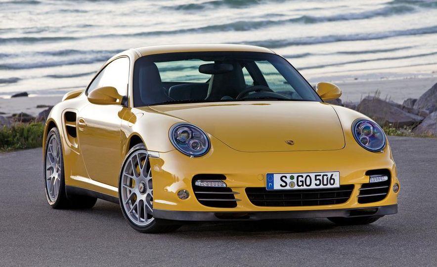 2013 Porsche 911 Turbo coupe (spy photo) - Slide 19