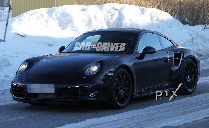 2013 Porsche 911 Turbo coupe (spy photo) - Slide 2