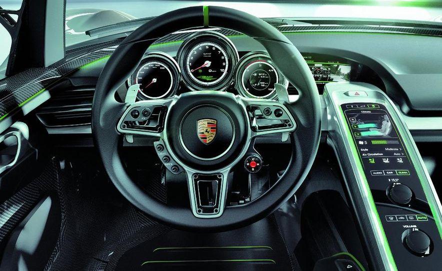 2014 Porsche 918 Spyder (artist's rendering) - Slide 13