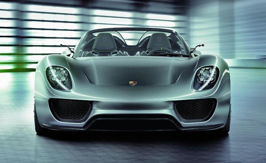2014 Porsche 918 Spyder (artist's rendering) - Slide 8