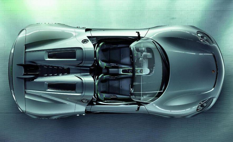 2014 Porsche 918 Spyder (artist's rendering) - Slide 10