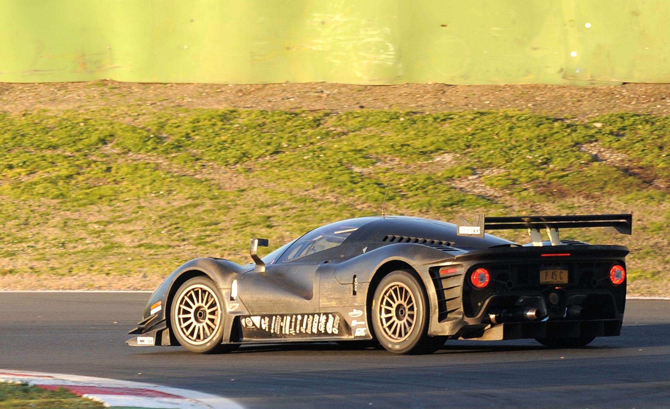 The Un-Ferrari: Shaking Down the P4/5 Competizione