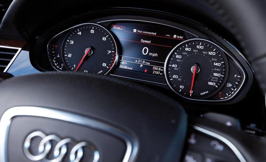 2011 Jaguar XJL Supercharged, 2011 Audi A8L, and 2011 BMW 750Li - Slide 73