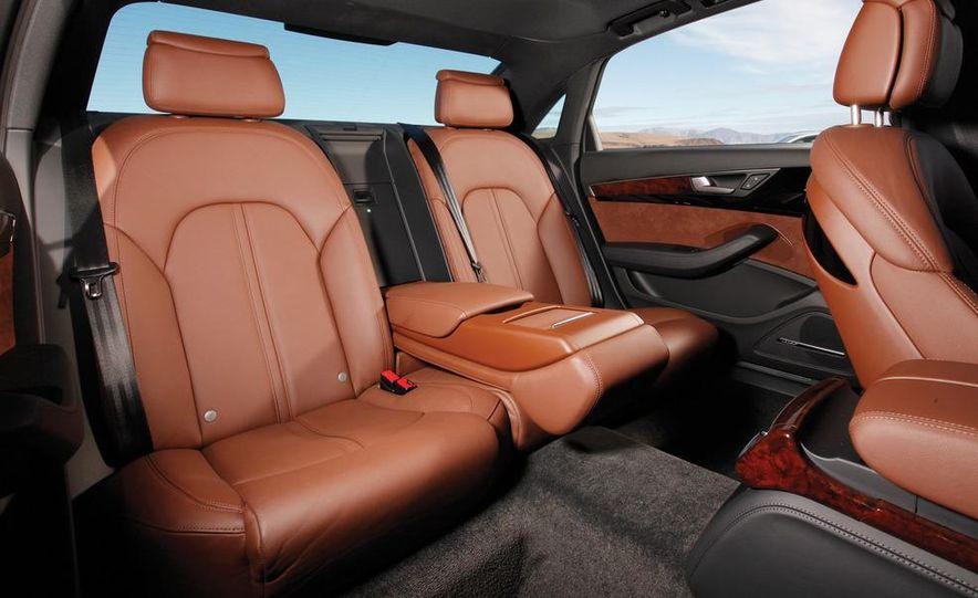 2011 Jaguar XJL Supercharged, 2011 Audi A8L, and 2011 BMW 750Li - Slide 72