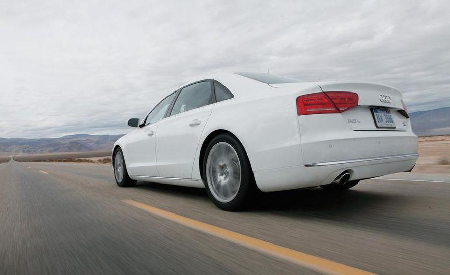 2011 Jaguar XJL Supercharged, 2011 Audi A8L, and 2011 BMW 750Li - Slide 54