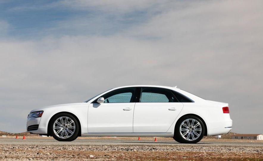 2011 Jaguar XJL Supercharged, 2011 Audi A8L, and 2011 BMW 750Li - Slide 56