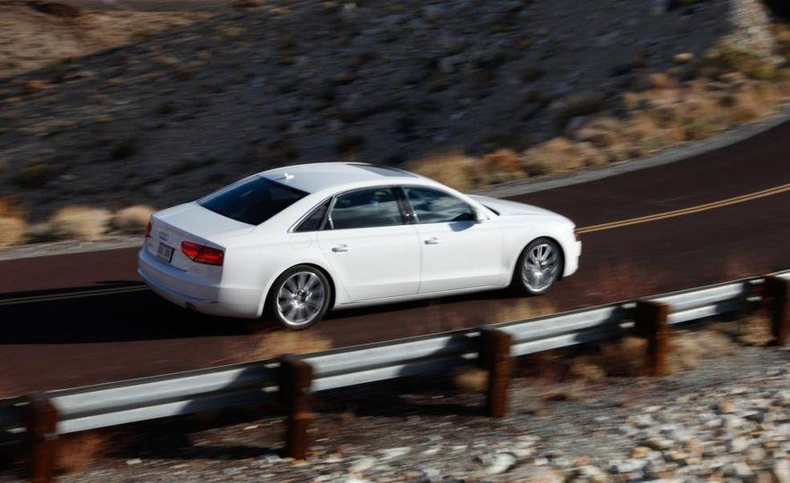 2011 Jaguar XJL Supercharged, 2011 Audi A8L, and 2011 BMW 750Li - Slide 64