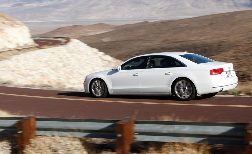 2011 Jaguar XJL Supercharged, 2011 Audi A8L, and 2011 BMW 750Li - Slide 65