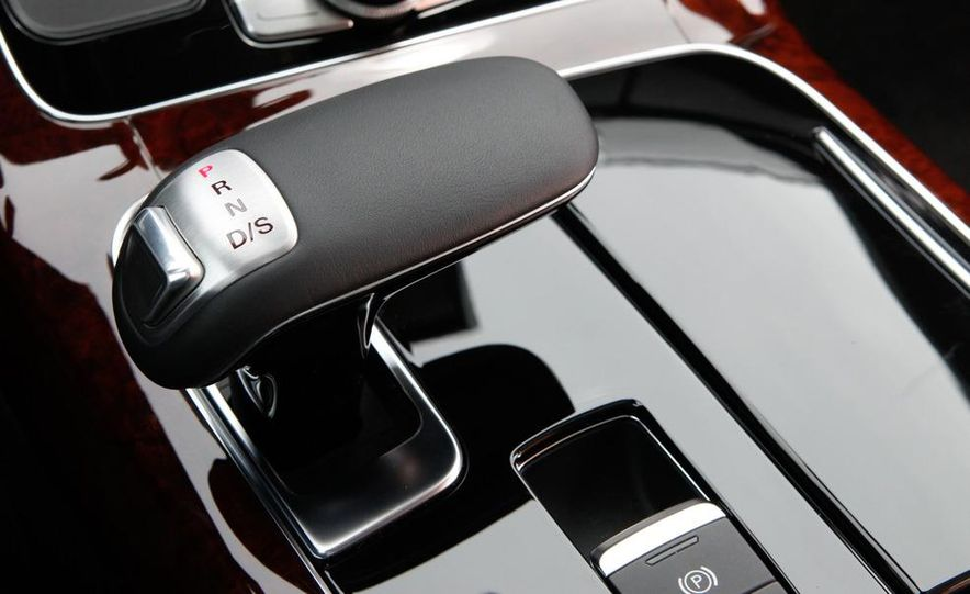 2011 Jaguar XJL Supercharged, 2011 Audi A8L, and 2011 BMW 750Li - Slide 75