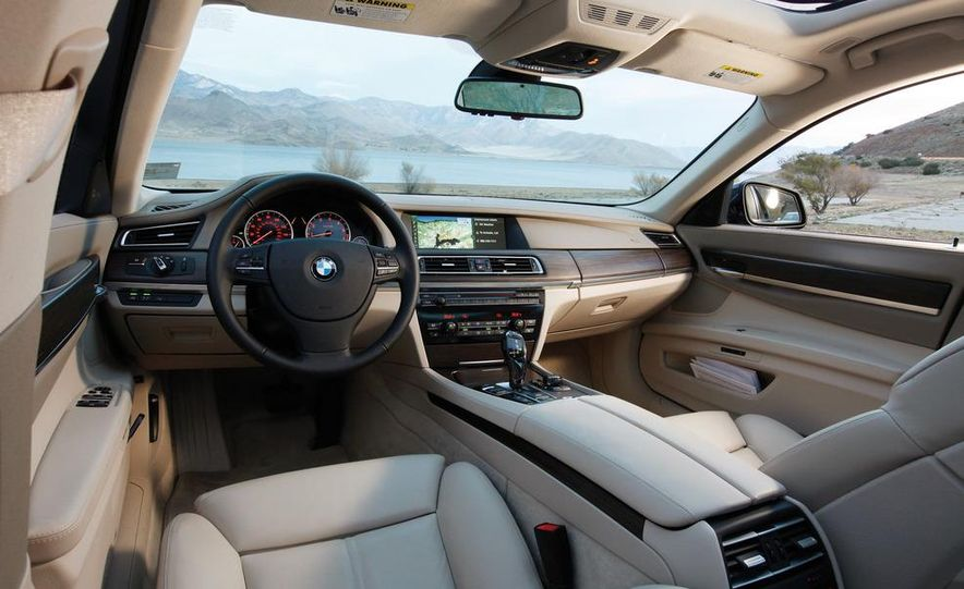 2011 Jaguar XJL Supercharged, 2011 Audi A8L, and 2011 BMW 750Li - Slide 19