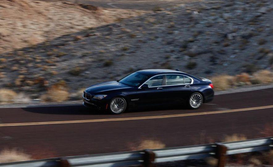 2011 Jaguar XJL Supercharged, 2011 Audi A8L, and 2011 BMW 750Li - Slide 13