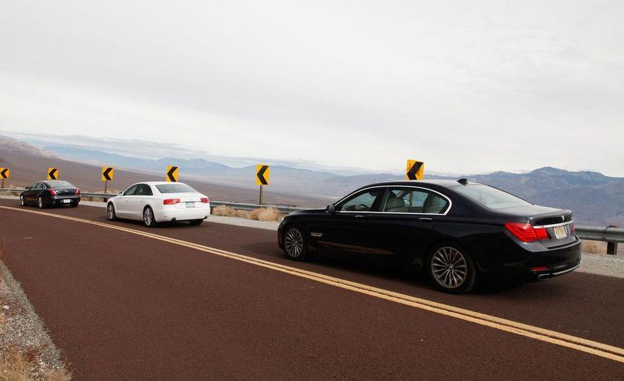 2011 Jaguar XJL Supercharged, 2011 Audi A8L, and 2011 BMW 750Li - Slide 5