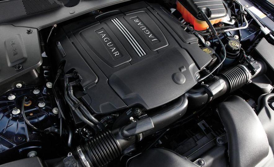 2011 Jaguar XJL Supercharged, 2011 Audi A8L, and 2011 BMW 750Li - Slide 52
