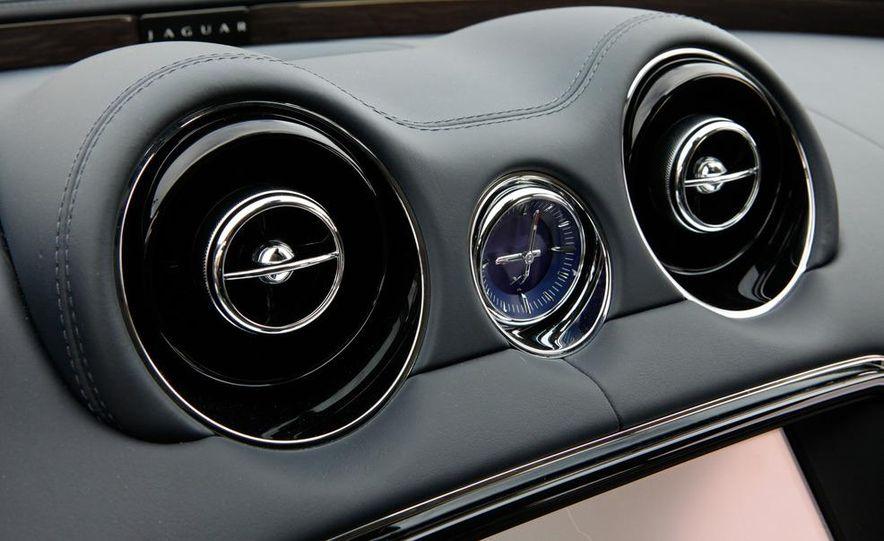 2011 Jaguar XJL Supercharged, 2011 Audi A8L, and 2011 BMW 750Li - Slide 48