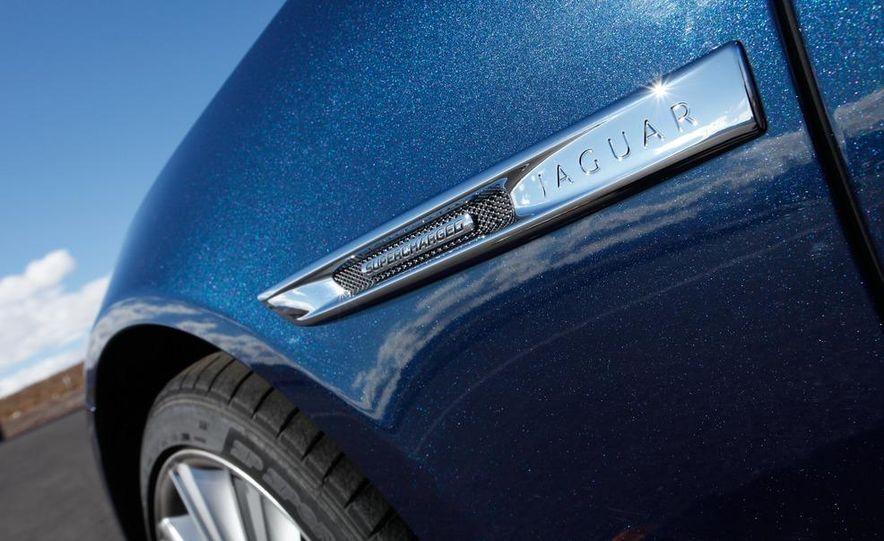 2011 Jaguar XJL Supercharged, 2011 Audi A8L, and 2011 BMW 750Li - Slide 43