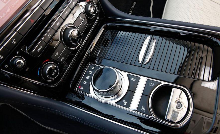 2011 Jaguar XJL Supercharged, 2011 Audi A8L, and 2011 BMW 750Li - Slide 49